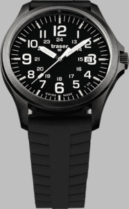 Traser P67 Officer Pro Watch with Silicone Strap