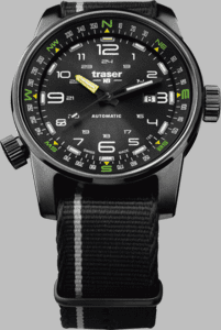 Traser P68 Pathfinder Automatic Watch with Nato Strap