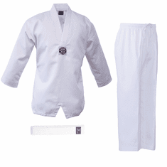 Deluxe  White V-Neck Uniform