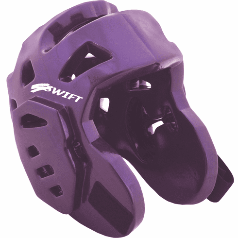 Swift Foam Head Guard,Purple