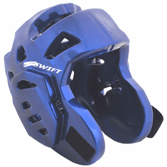 Swift Foam Head Guard, Blue