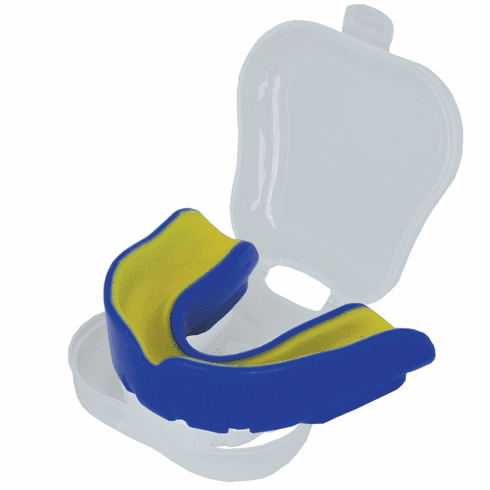 Swift Mouth Guard with Case,Blue