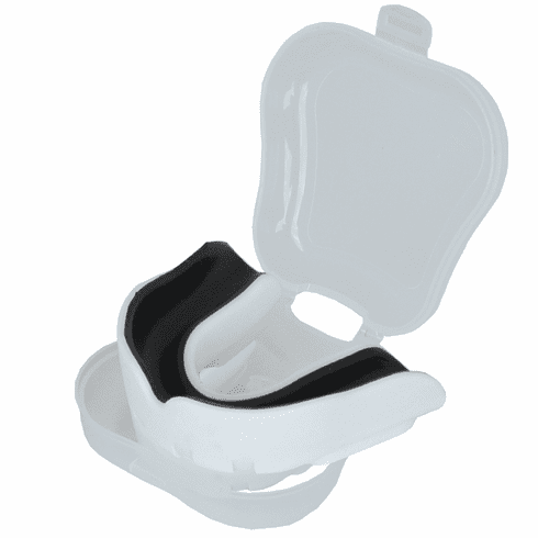 Swift Mouth Guard with Case,White
