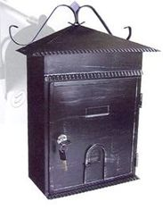 A1 Quality Mailboxes large locking asian design home mailbox mbxslb002