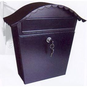 A1 Quality Mailboxes: large locking vertical home mailbox mbxslb004