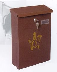 A1 Quality Mailboxes locking vertical home mailbox mbxslb005