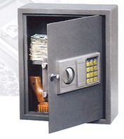 A1 Quality Wall Safes: low price electronic hotel wall safe - wall mount pistols