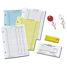 Buddy 0019 Repli-Key Replacement Key Tags and Forms