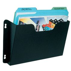 Buddy 5201 Letter Size Dr. Pocket Wall Files