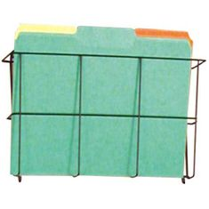 Buddy 6301 Wire Ware Letter Size 1 Pocket Literature Rack