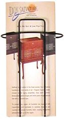 Buddy 6311 Wire Ware 1 Pocket Curved Brochure Holder