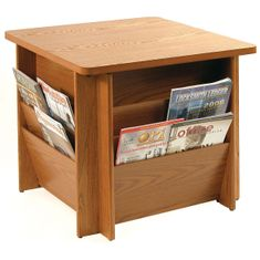 Buddy 9298 Table with Literature Rack