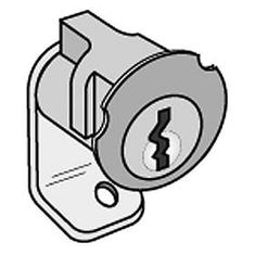Commercial 2090 Standard Replacement Lock for Brass Mailboxes with (2) Keys