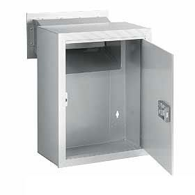 Commercial 2256 Receptacle Option for Mail Drop with Durable Powder Coated Finish