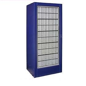 Commercial 3100 Rotary Mail Center with Aluminum Style