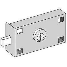Commercial 3675 Master Commercial Lock for Private Access of FL 4B+ Horizontal Mailboxes and Parcel Lockers with (2) Keys