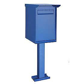 Commercial 4275 Regular Pedestal Drop Box with Durable Powder Coated Finish
