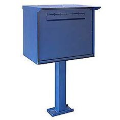 Commercial 4277 Jumbo Pedestal Drop Box with Durable Powder Coated Finish