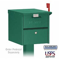 Commercial 4325 Roadside Mailbox