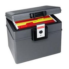 Honeywell 2037W Fire & Water Proof Hanging File Chest with Wheels