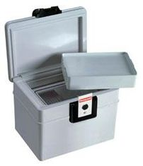 Honeywell 2040W Fire & Water Proof Media Chest with Wheels