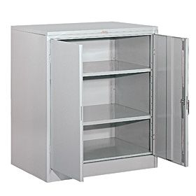 Locker 90348 42 Inches High 18 Inches Deep Counter Height Storage Cabinets