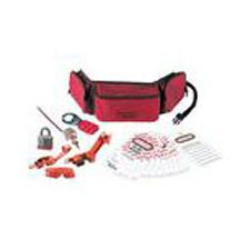Master Lock 1456E3 Personal Lockout Pouch Kit - Electrical