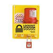Master Lock S1745E410 Compact Lockout Center