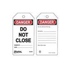 Master Lock S4009 Safety Tag Do Not Close