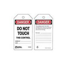 Master Lock S4028 Safety Tag do not touch