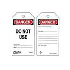 Master Lock S4031 Safety Tag danger do not use