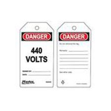 Master Lock S4045 Safety Tag 440 Volts
