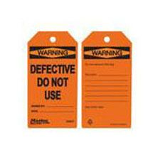 Master Lock S4047 Safety Tag Defective Do Not Use