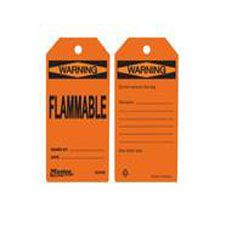 Master Lock S4048 Safety Tag Flammable