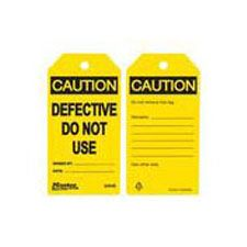 Master Lock S4049 Safety Tag Defective Do Not Use