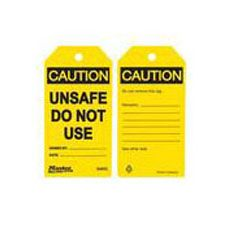 Master Lock S4053 Safety Tag Unsafe Do Not Use