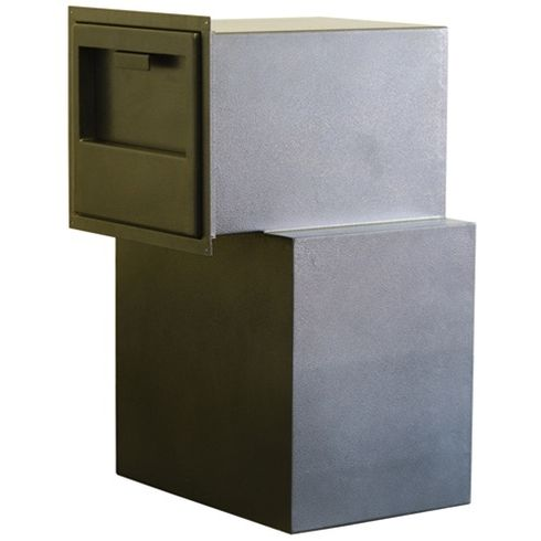 Protex FDD-3020BD Dual Compartment Back Drop Depository Safe