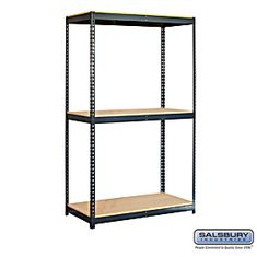 Residential 9742 Includes Particleboard Shelves, Shelf Beams with A Shelf Support and Uprights