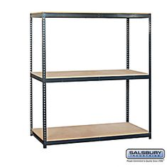 Residential 9762 Includes Particleboard Shelves, Shelf Beams with A Shelf Support and Uprights