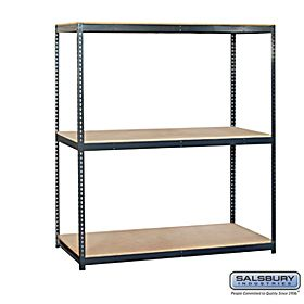 Residential 9763 Includes Particleboard Shelves, Shelf Beams with A Shelf Support and Uprights