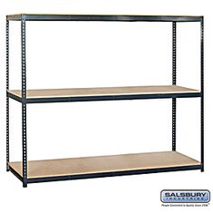 Residential 9783 Includes Particleboard Shelves, Shelf Beams with A Shelf Support and Uprights