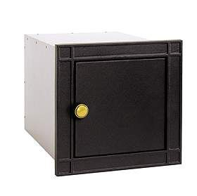 Residential Column Mailbox Non Locking with Durable Powder Coated Finish