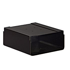 Residential Newspaper Holder for Roadside Mailbox with Durable Powder Coated Finish