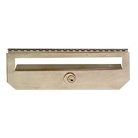 Residential Security Kit Option for Traditional Mailbox Vertical Style with (2) Keys