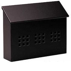 Residential Traditional Mailbox Decorative Horizontal Style with Durable Powder Coated Finish