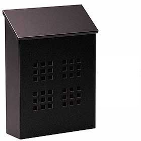 Residential Traditional Mailbox Decorative Vertical Style with Durable Powder Coated Finish