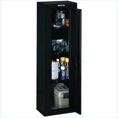 Safes Security Plus Pistol and Ammo Ready to Assemble Key Lock Cabinet