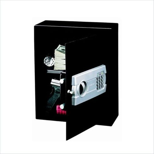 Safes Strong Box Drawer or Wall Safe with Electronic Lock