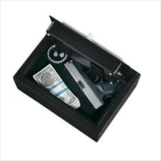 Safes Strong Box Drawer Safe with Electronic Lock