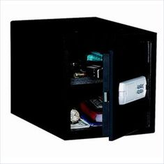 Safes Strong Box Medium Personal Drawer Safe with Motorized Electronic Lock